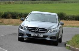 Mercedes E Class, front