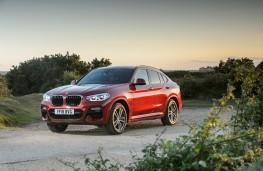BMW X4 M Sport, front