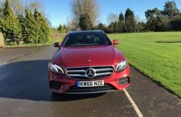 Mercedes E-Class Estate, front