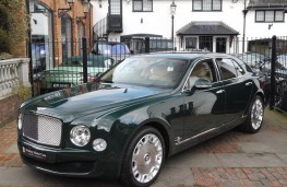 Bentley Mulsanne, Queen's former car, front