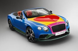Bentley Continental by Sir Peter Blake