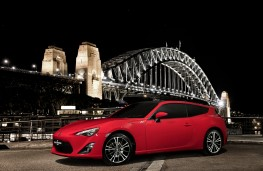 Toyota GT86 Shooting Brake concept, front
