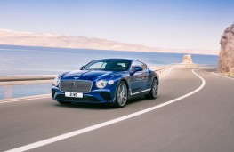 Bentley Continental GT, 2017, front