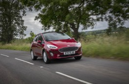 Ford Fiesta, 2017, front