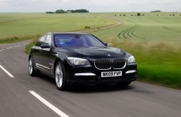 BMW 7 Series, 2009, front