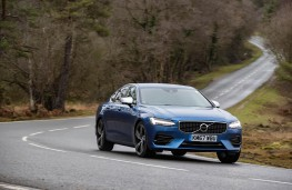 Volvo S90 Recharge T8, 2021, front, action