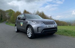 Land Rover Discovery Commercial, 2021, front