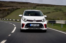 Kia Picanto GT-Line, 2017, nose, action