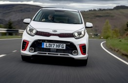 Kia Picanto GT-Line, 2017, front, action