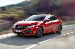 Honda Civic, 2017, front