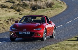 Mazda MX-5 RF, 2017, front, action