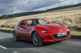 Mazda MX-5 RF, 2017, front, action, roof down
