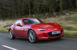 Mazda MX-5 RF, 2017, front, action, roof up