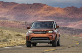 Land Rover Discovery, 2017, canyon, front