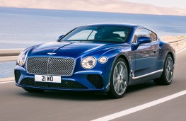 Bentley Continental GT, 2017, front, crop