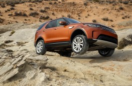 Land Rover Discovery, 2017, off road, side