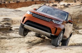 Land Rover Discovery, 2017, off road, articulation