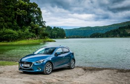 Mazda2, Epic Drive Azores, 2017, front, lake