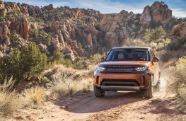 Land Rover Discovery, 2017, front, canyon