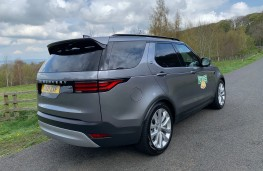 Land Rover Discovery Commercial, 2021, rear