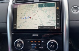Land Rover Discovery Commercial, 2021, display screen