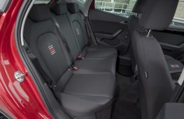 SEAT Ibiza FR, 2017, rear seats