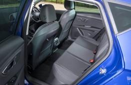 SEAT Leon FR, 2017, rear seats