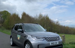 Land Rover Discovery Commercial, 2021, front, upright