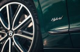Bentley Flying Spur Hybrid, 2021, badge