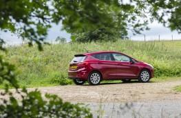 Ford Fiesta, 2017, side