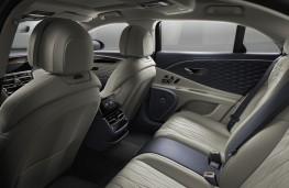 Bentley Flying Spur, 2019, rear seats