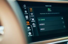Bentley Flying Spur Hybrid, 2021, display screen