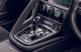 Jaguar F-Type, 2020, centre console