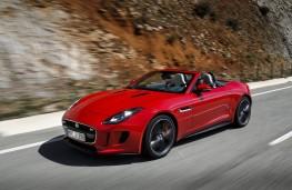 Jaguar F-Type, 2017, front, action