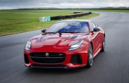 Jaguar F-Type, 2017, with GoPro camera