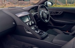 Jaguar F-Type, 2020, interior