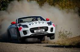 Jaguar F-Type Rally, 2019, front