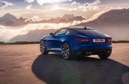 Jaguar F-Type, 2020, rear