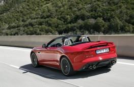Jaguar F-Type, 2017, rear, action
