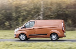 Ford Transit Custom, 2018, side