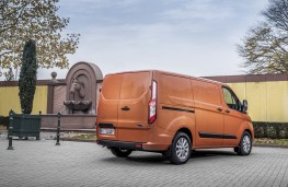 Ford Transit Custom, 2018, rear, static