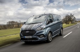 Ford Transit Custom Sport, 2018, front, action