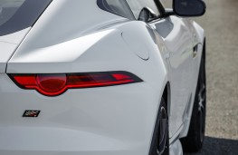 Jaguar F-Type Chequered Flag, 2019, rear, detail