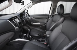 Fiat Fullback Cross, interior