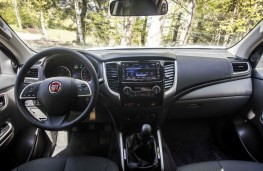 Fiat Fullback, 2016, interior, manual