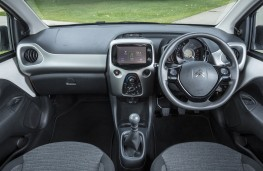 Citroen C1 Furio, 2016, interior