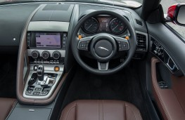 Jaguar F-Type V6 S, interior