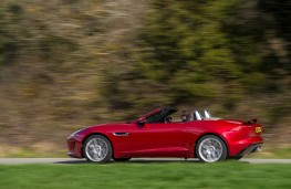 Jaguar F-Type V6 S, side