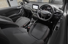 Ford Fiesta van hybrid, interior