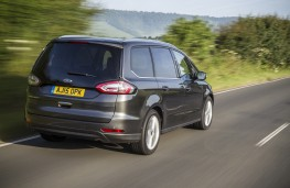Ford Galaxy 2015, rear, action